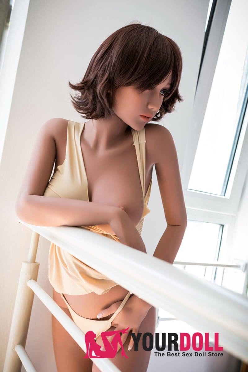 WM Dolls  杏  163cm  Dカップ  #85  ブラウン肌 ラブドール 激安