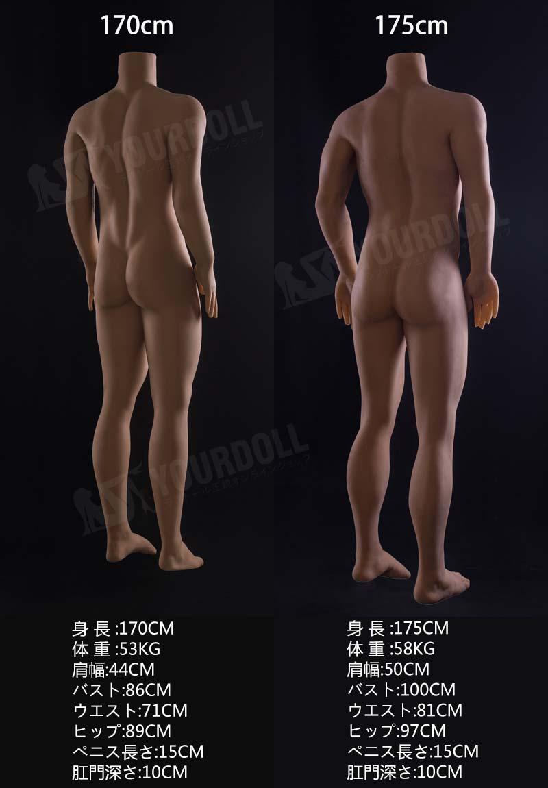 QitaDoll 宋 170-175cm イケメン ゲイ等身大ラブドール
