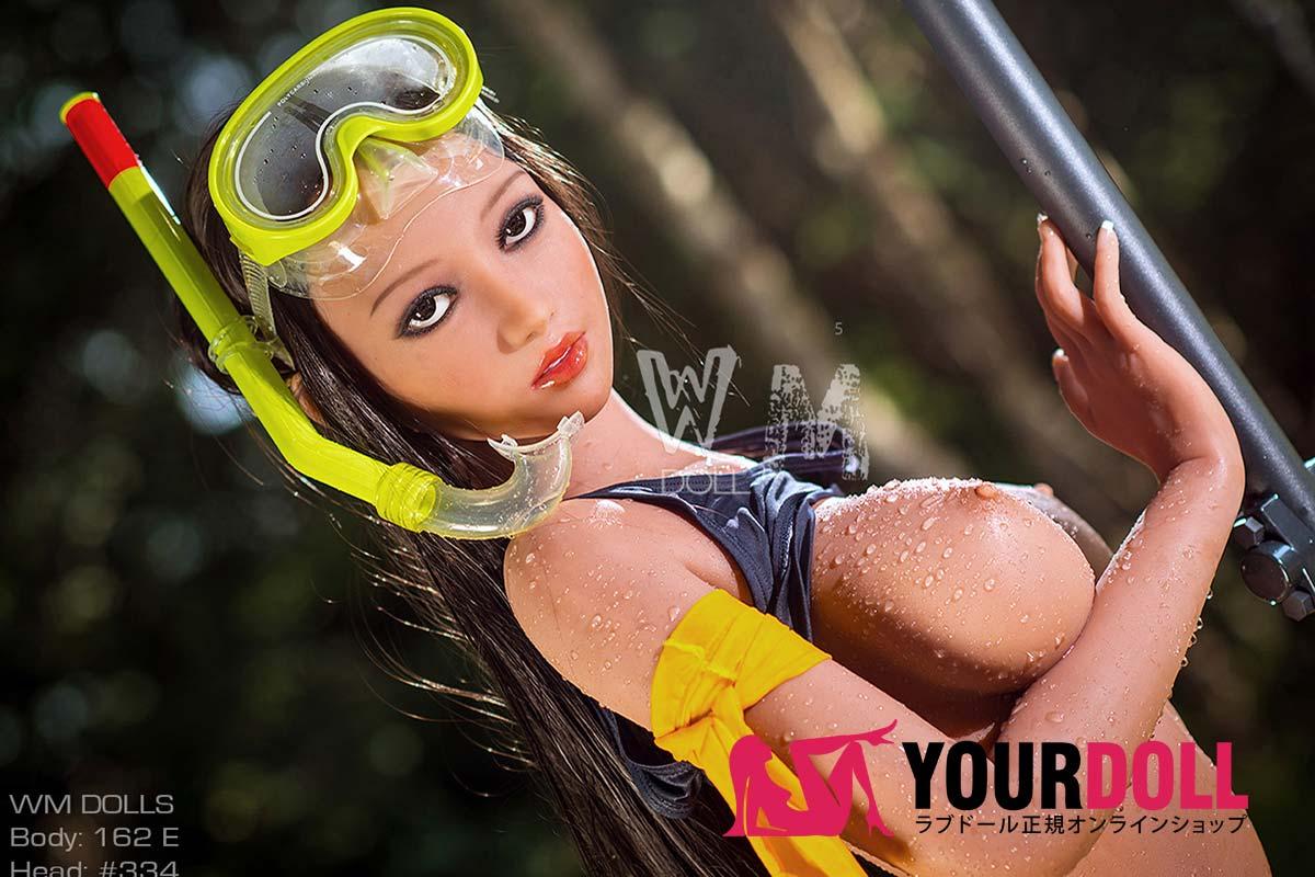 WM Dolls  Maya 162cm  Eカップ  #334 褐色肌の水着美人 ドール