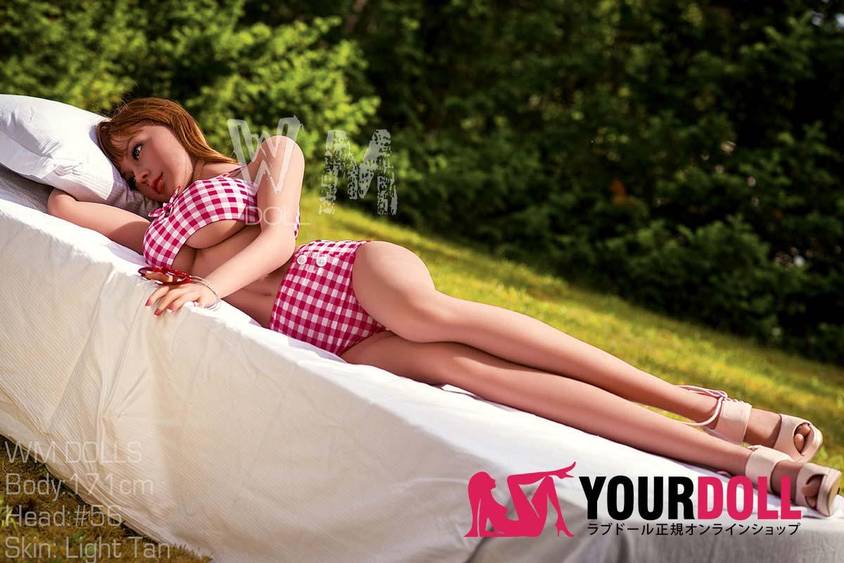 WMDOLL  Lillian 171cm #56  欧米風ブラウン肌色の美人 リアルドール
