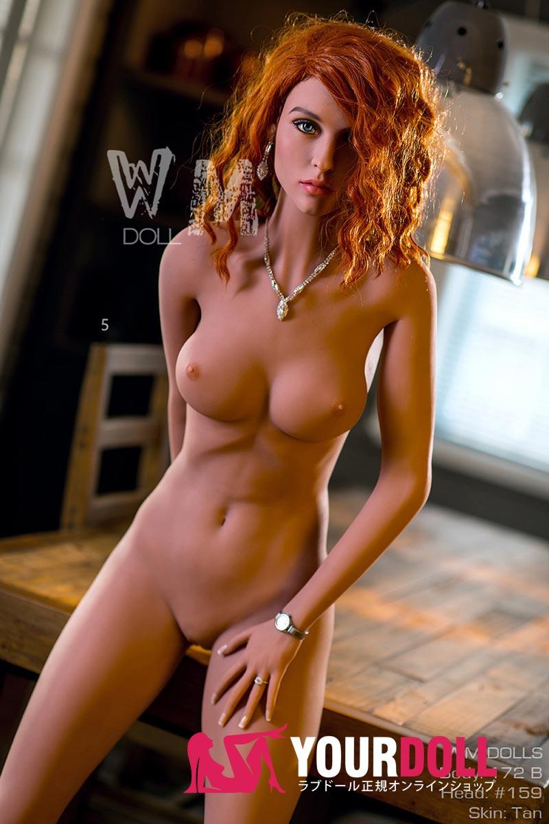 WMDOLL  Lana 172cm  Bカップ#159 欧米仕様ブラウン肌色のリアルラブドール
