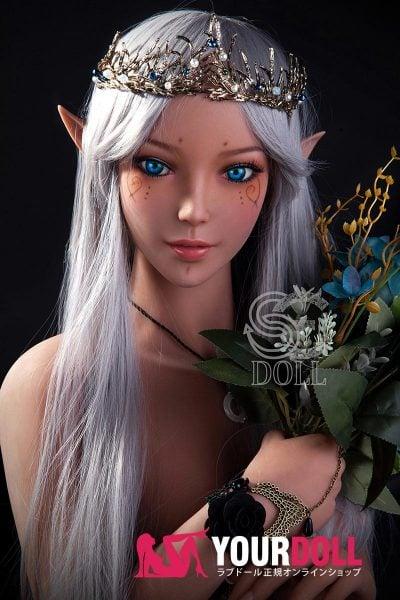 SEDOLL  Amanda 150cm Eカップ SE#022  エルフ ブラウン肌 リアルドール(Sex Bot Doll )
