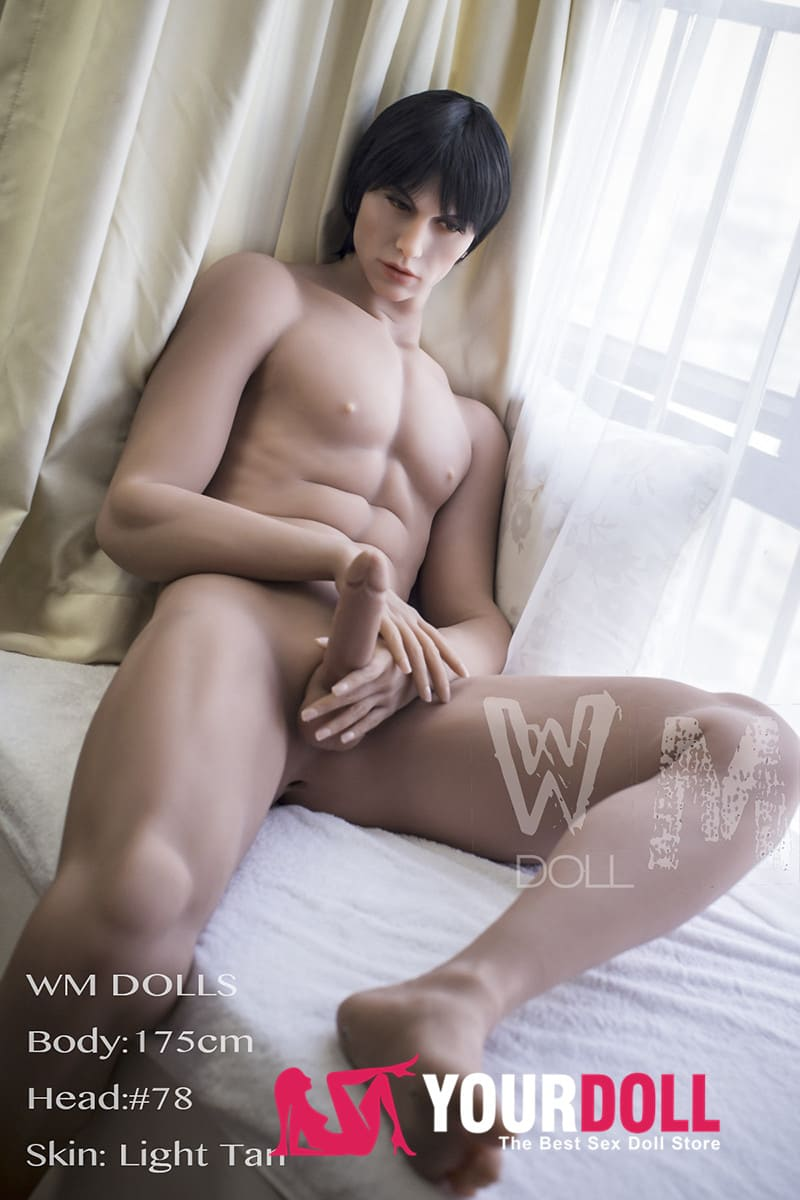 WMDOLL  Alan 175cm  #78  小麦色肌のメンズ  ラブドール 男 Male