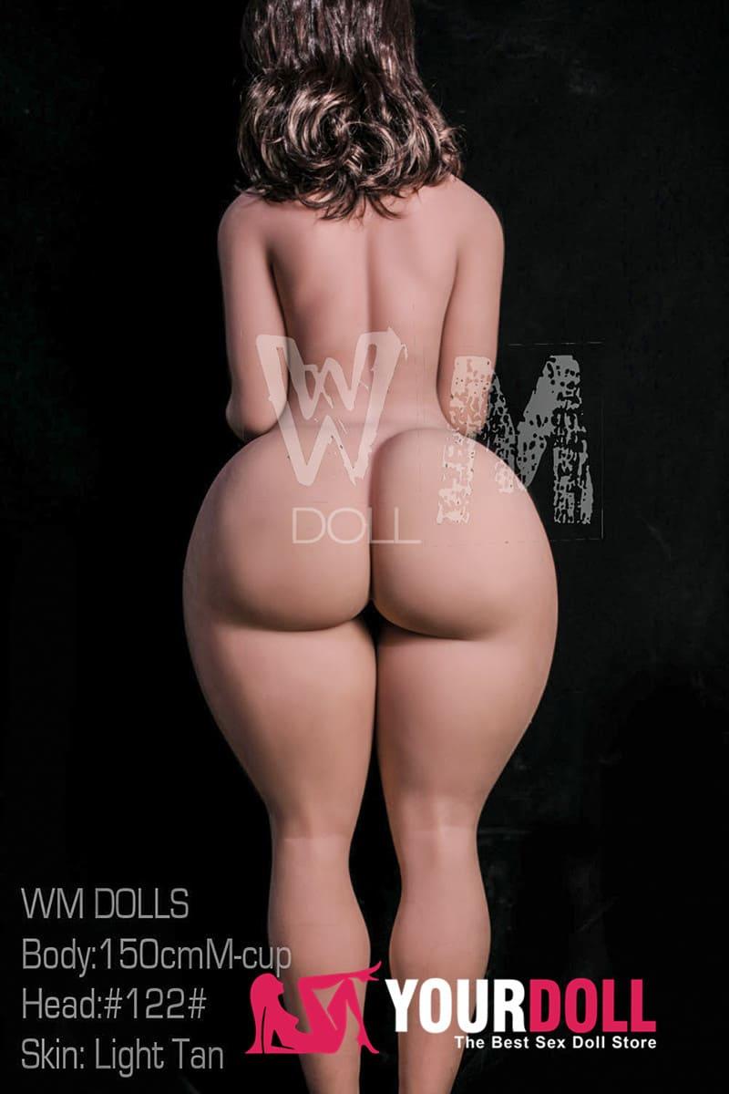 WM Dolls  Nora  150cm  Mカップ  #122  ブラウン肌のラブドール 巨乳