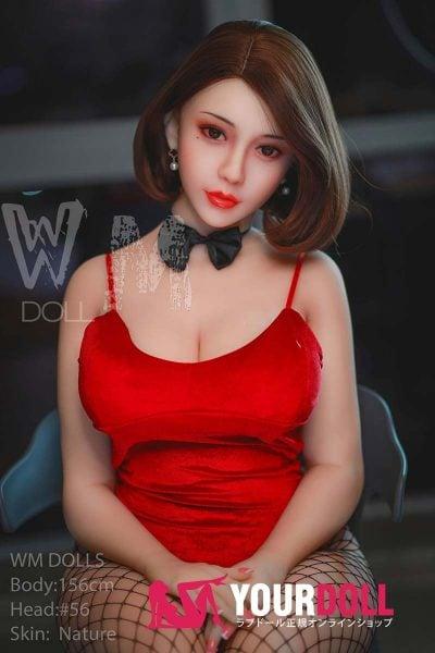 WM Dolls  さや  156cm  Hカップ  #56  自然肌  爆乳 リアル ドール