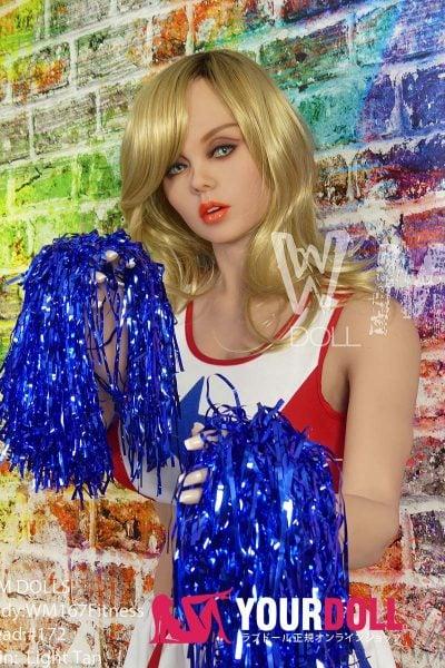 WM Dolls Indigo 167cm Gカップ #172  チアガール 小麦色 ラブドール
