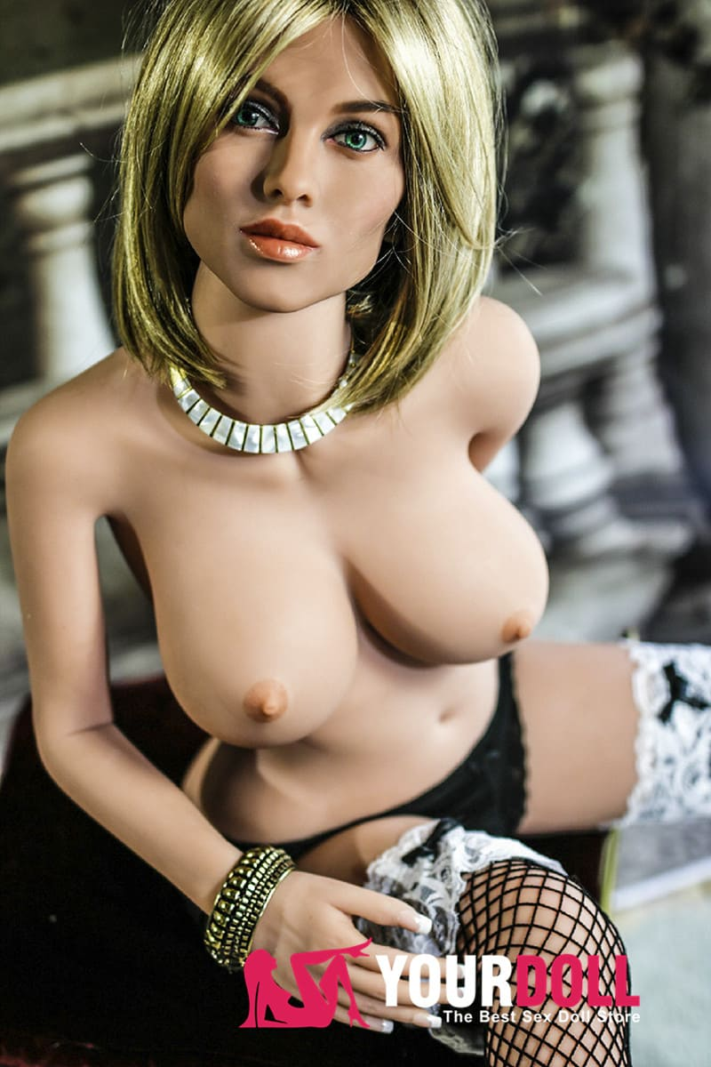 YL DOLL Noor 135cm  Dカップ #084  ブラウン肌   金髪美女 リアルドール