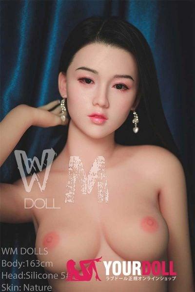 WM Dolls  愛姫  163cm  Dカップ #5 ノーマル肌  シリコンヘッド リアルドール