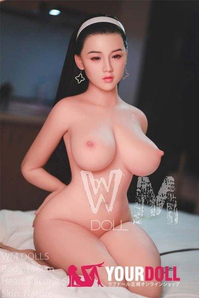 WM Dolls  文奈 156cm  Hカップ #5 ノーマル肌 シリコンヘッド ダッチワイフ