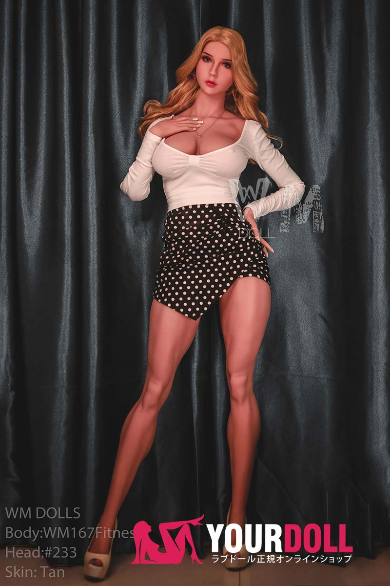 WM Dolls  Rosie 167cm  Gカップ #233 ブラウン肌 着衣爆乳 セックス人形