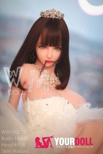 WM Dolls 里桜 148cm Lカップ #314  自然肌 ラブドール 爆乳 ニプルファック可能