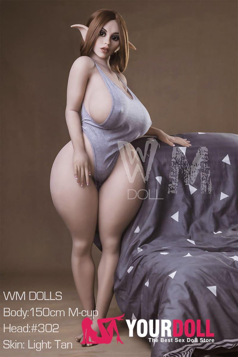 WM Dolls  Morgan  150cm  Mカップ  #302  小麦肌  エルフダッチワイフ