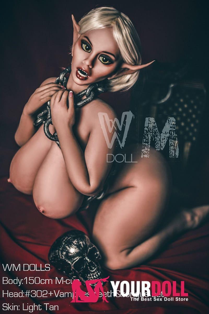 WM Dolls  Ulrica 150cm  Mカップ  #302  小麦肌  ダークエルフリアルドール