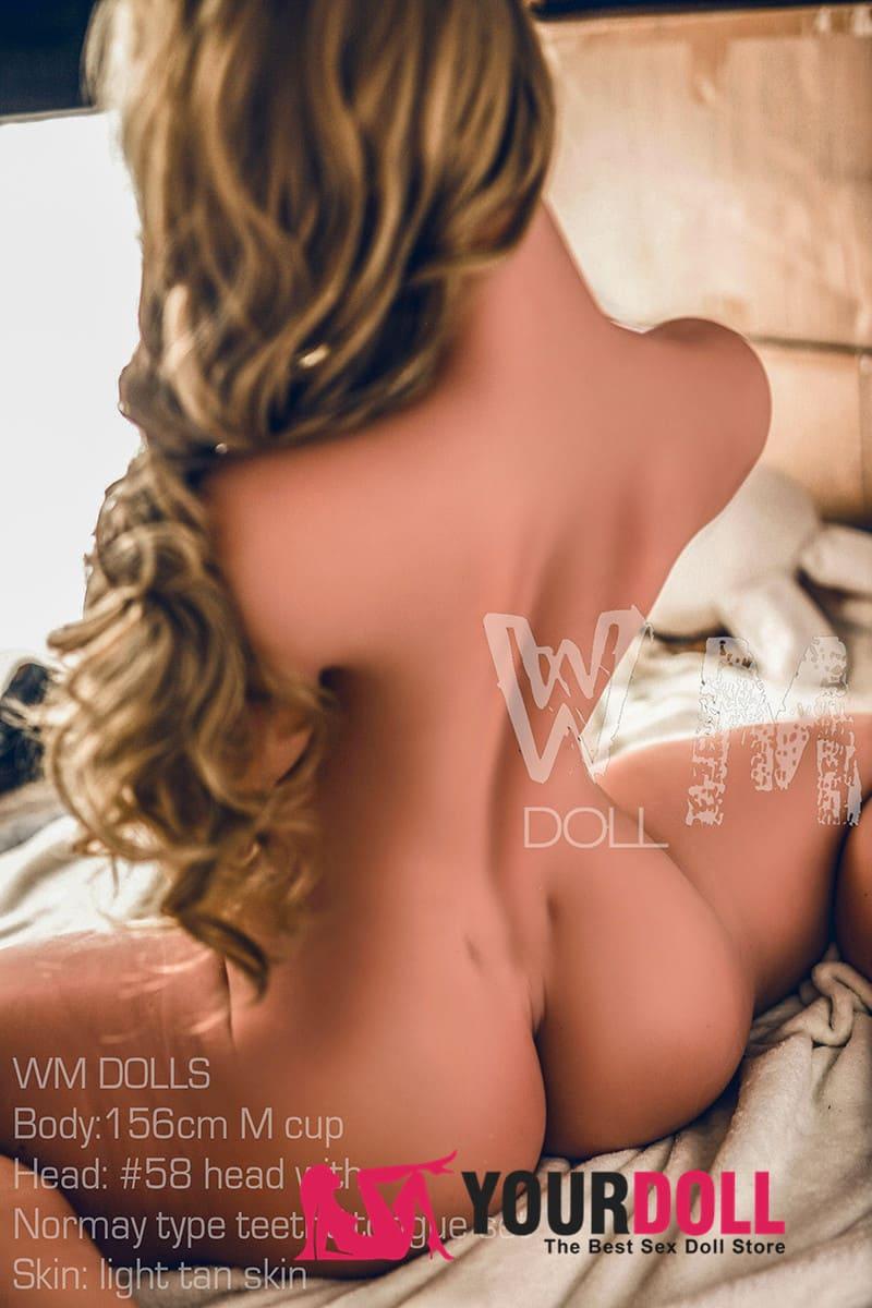 WMドール  Jirina  156cm  Mカップ  #58  小麦肌  ラブドール 巨乳