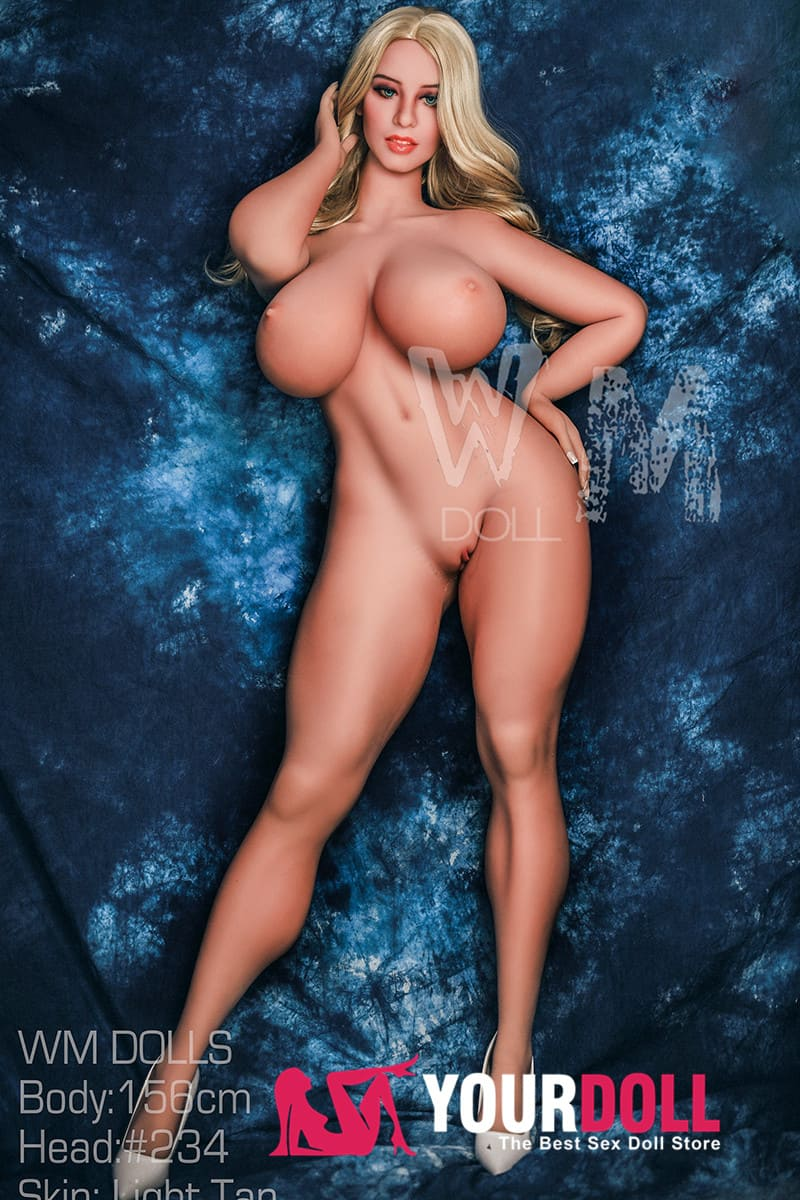 WM Dolls  Zella  156cm  Mカップ  #234  小麦肌  ナースプレイ 巨乳 ラブドール