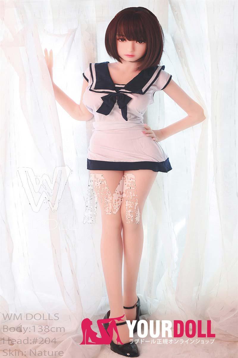 WM Dolls 真凜 138cm  Eカップ #204 ノーマル肌  可愛い ラブドール