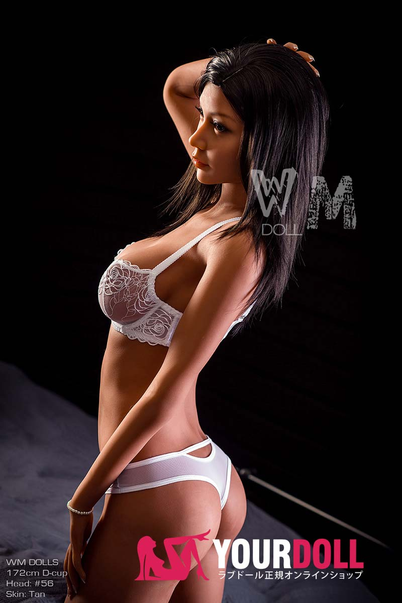 WM Dolls Lina 172cm  Dカップ  #56 ブラウン肌  欧米系  ダッチワイフ 最新