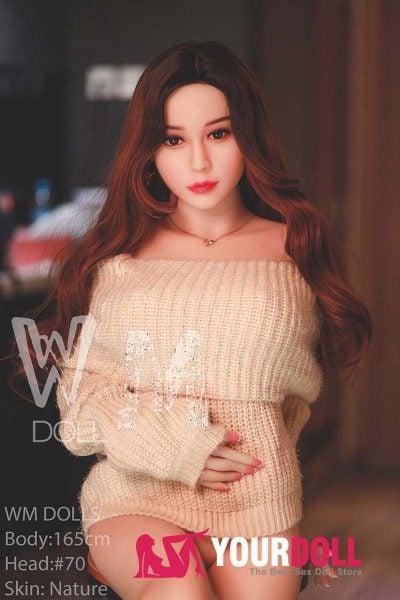 WM Dolls  彩香 165cm  Dカップ #70  ノーマル肌 清楚系 ラブドール tpe