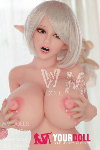 WM Dolls Elena 148cm Lカップ #355  ノーマル肌 5穴のセックス人形 エルフ
