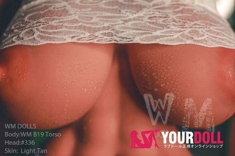 WM Dolls  Nonie  89cm  Sカップ #336 小麦肌 超 乳 ラブドール 上半身 トルソー
