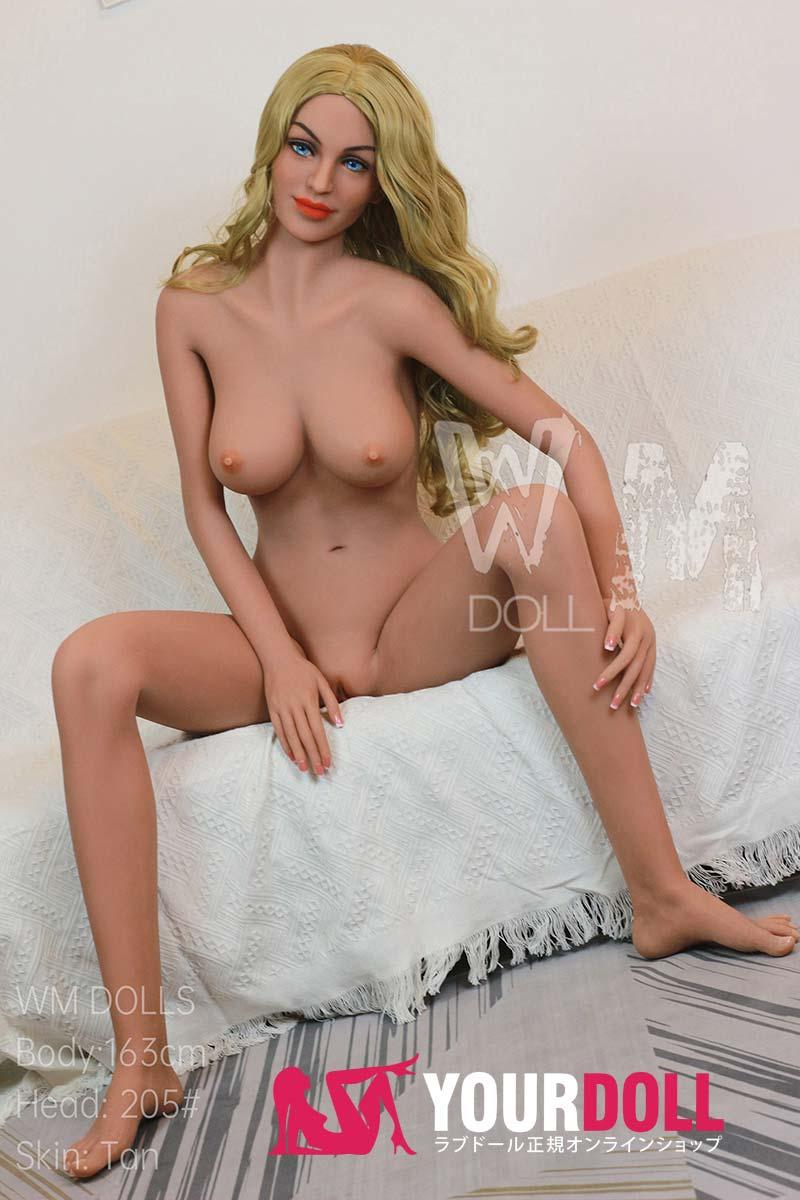 WM Dolls  Zoe 163cm  Dカップ  #205 ブラウン肌  笑い顔 ダッチワイフ