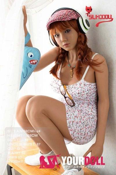SilikoDoll Satoki J4 158cm Dカップ フルシリコン製 小麦色肌 ラブ人形