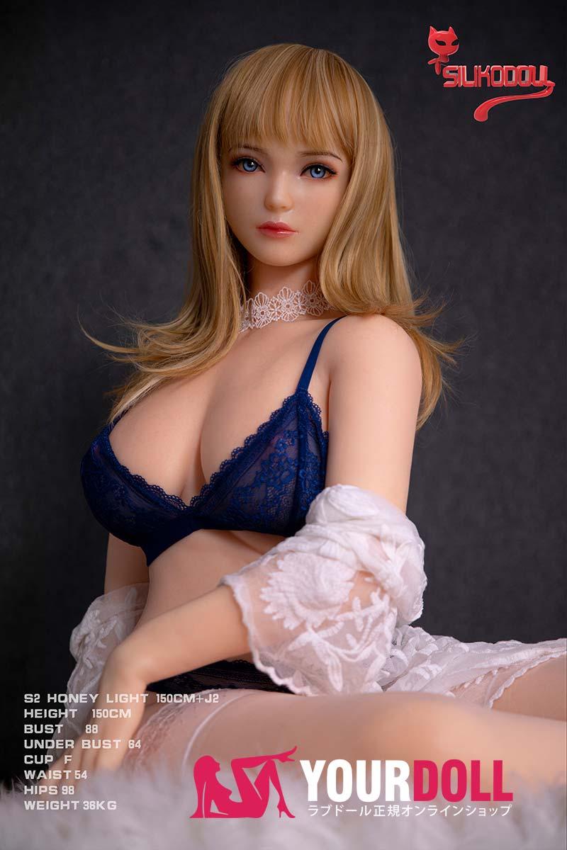 SilikoDoll Sasha J2 150cm Fカップ フルシリコン製 イェロー肌 ラブ人形
