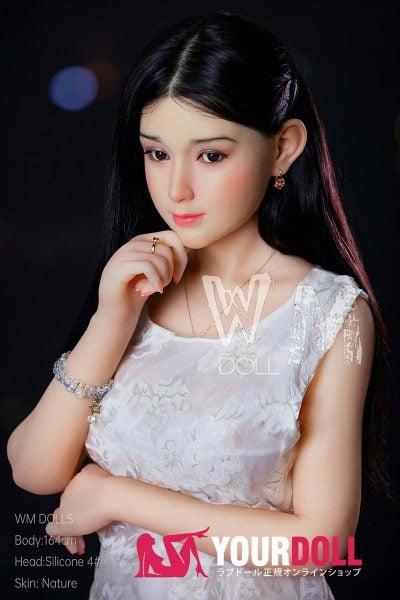 WM Dolls  佐絵 164cm  Dカップ #4 ノーマル肌 シリコンヘッド +TPEボディ ラブ人形