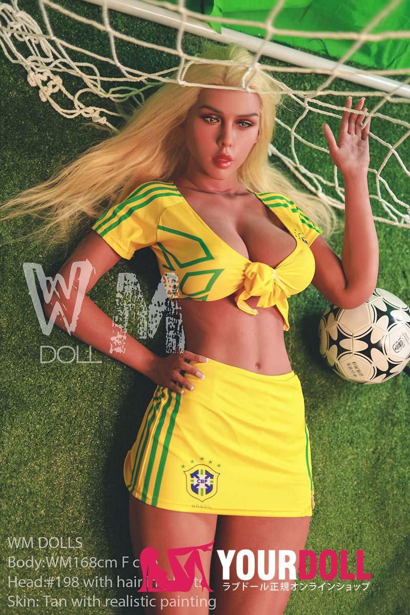 WM Dolls Helana 168cm Fカップ  #198 ブラウン肌  ラブドール 巨乳