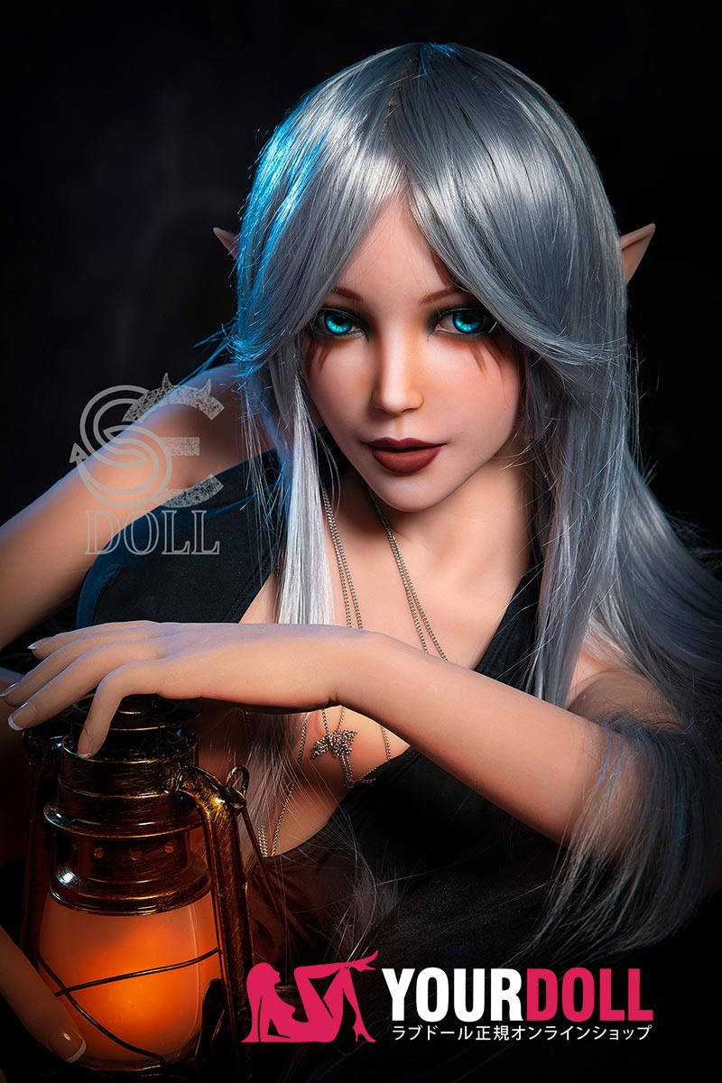 SEDOLL Elsa 150cm Eカップ  小麦肌 ダークエルフ ハロウィン ラブ人形(Sex Bot Doll )