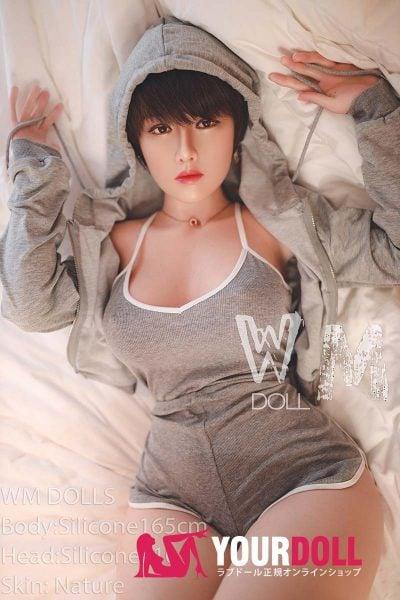 WM Dolls 純玲 165cm  Fカップ #10  フルシリコンノーマル肌  セックス ドール