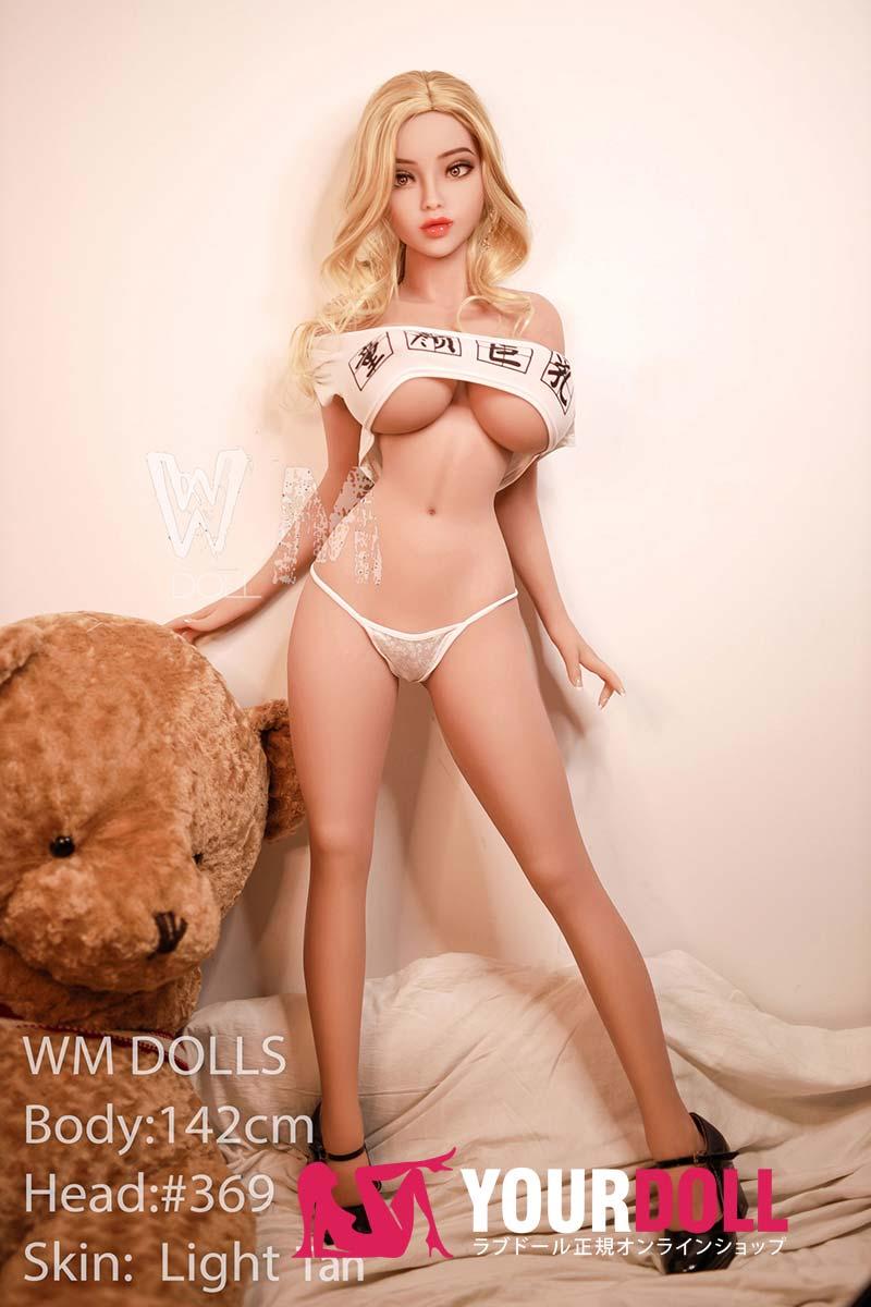 WM Dolls kate 142cm  Kカップ  #369 小麦色肌  等身大ドール ニプルファック可能