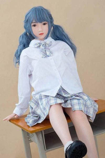WaxDoll 雲雀 G28 130cm Aカップ ノーマル肌 フルシリコン製  ラブ人形