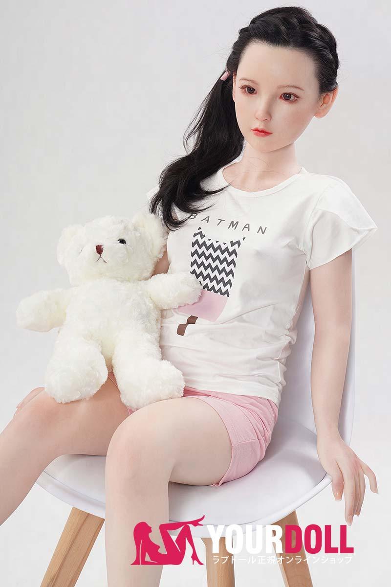 WaxDoll 千帆 G36 130cm Aカップ インプラント型の髪 ノーマル肌 フルシリコン製  ラブ人形