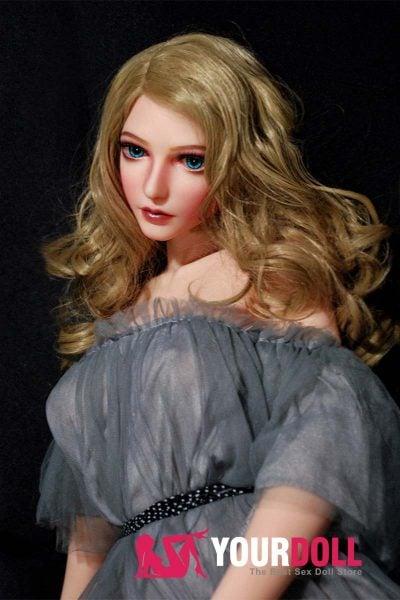 ElsaBabe Momoe 102cm ノーマル肌  フルシリコン製  外人美人 ラブ人形 3種類の胸選択可能