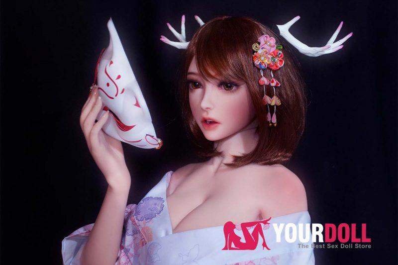ElsaBabe Mizuki 150cm ノーマル肌  フルシリコン製 巫女 BJD風 ラブ人形 3種類の胸選択可能