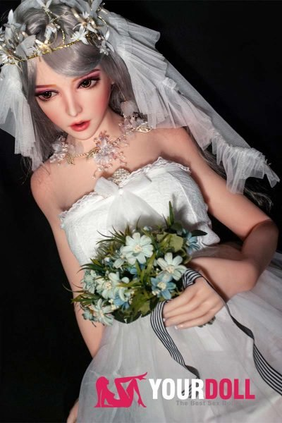 ElsaBabe Ayumi 150cm ノーマル肌  フルシリコン製 花嫁 等身大ドール 3種類の胸選択可能