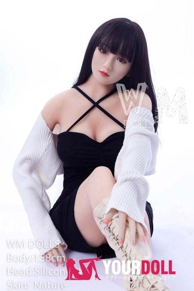 WM Dolls  千雪 158cm  Dカップ #8 ノーマル肌 シリコンヘッド +TPEボディ ラブ人形