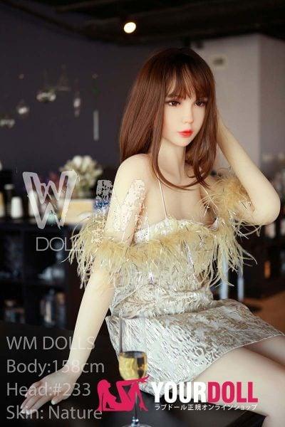 WM Dolls 愛美 168cm Fカップ #17 ノーマル肌 シリコンヘッド +TPEボディ ラブ人形