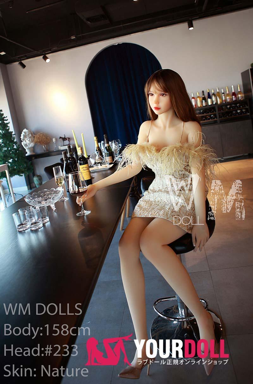 WM Dolls 冬華 158cm Dカップ #233  ノーマル肌 等身大 ラブドール