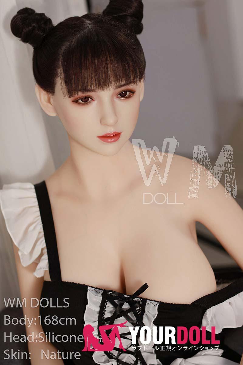 WM Dolls 穂奈美 168cm Fカップ #17 ノーマル肌 シリコンヘッド +TPEボディ ラブ人形