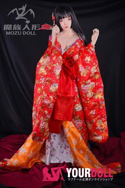 MOZU  M3ヘッド 158cm  肌色&瞳色&ウイング&メイク&服は画像と同じ ラブ人形