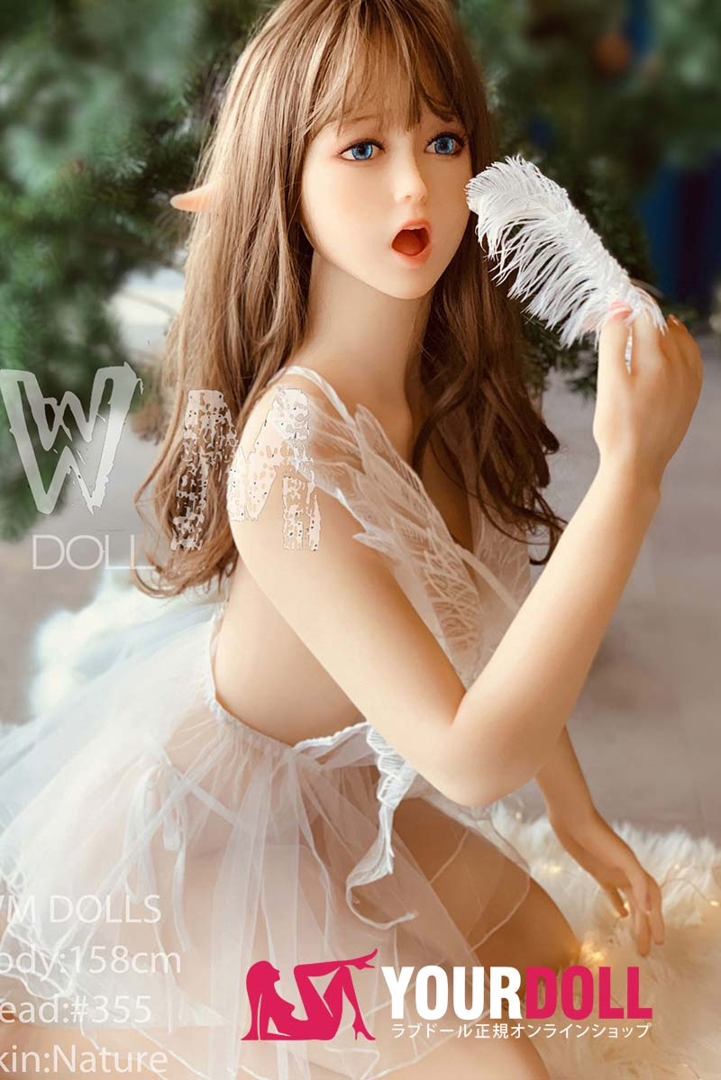 WM Dolls 美美 158cm Dカップ #355  ノーマル肌 童顔エルフ 等身大 ラブドール