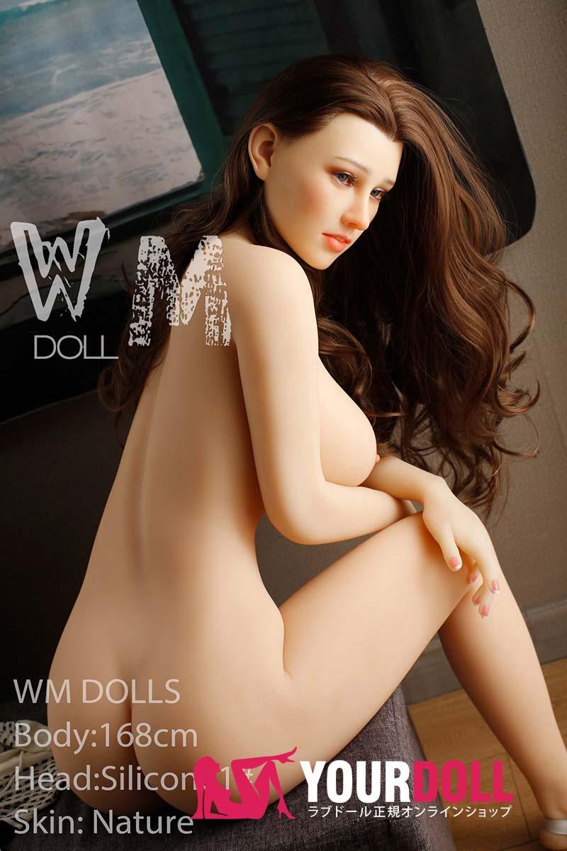 WM Dolls Babara 168cm Fカップ #1 ノーマル肌 シリコンヘッド +TPEボディ ラブ人形