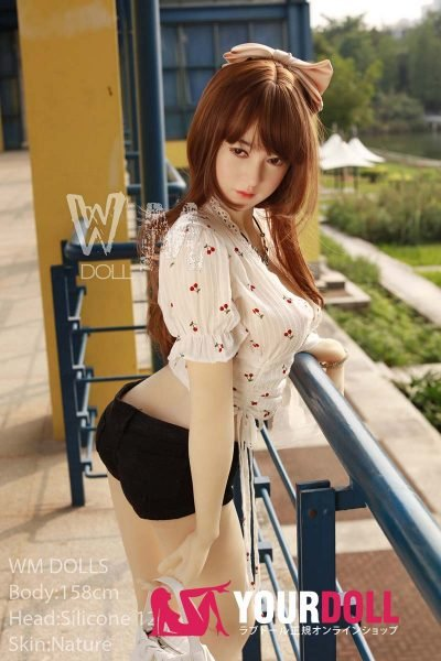 WM Dolls  智美 158cm  Dカップ #12 ノーマル肌 シリコンヘッド +TPEボディ ラブ人形
