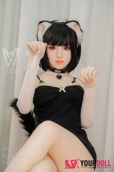 WM Dolls  恵比寿 158cm  Dカップ #16 ノーマル肌 シリコンヘッド +TPEボディ ラブ人形