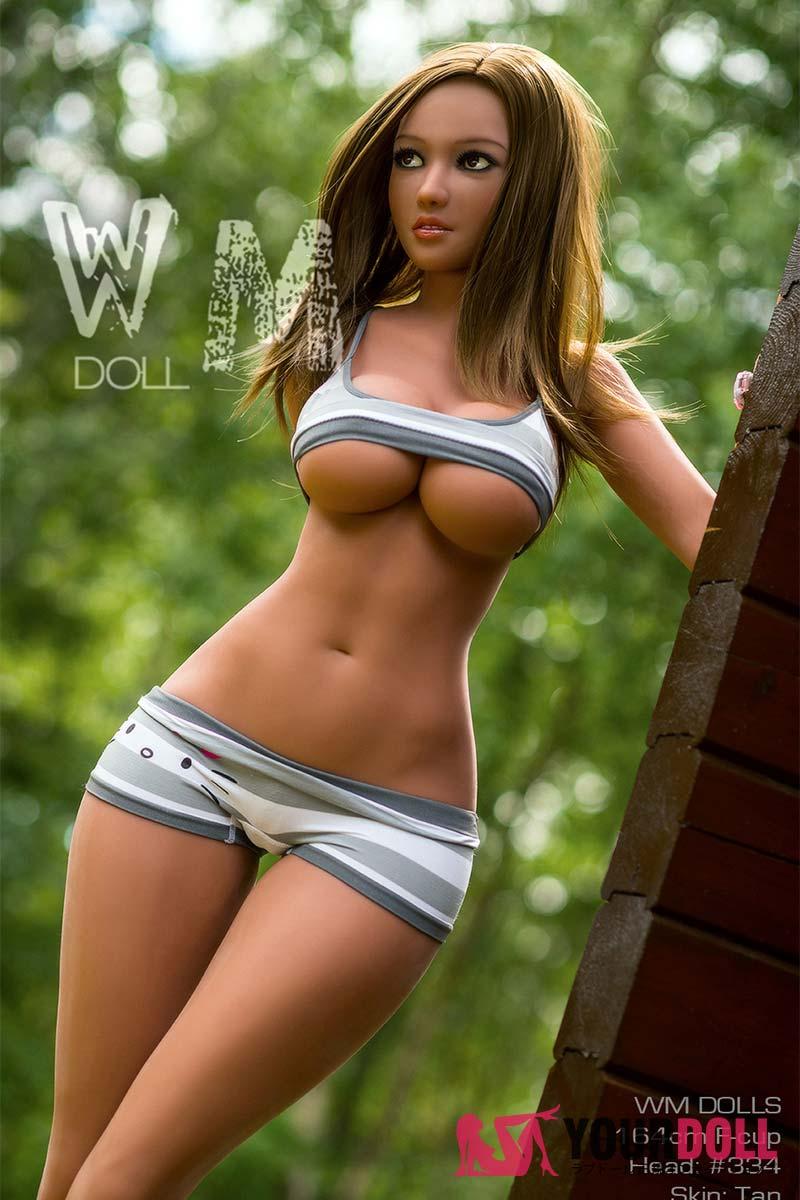 WM Dolls Ianthe 164cm  Fカップ  #334 ブラウン肌  等身大ドール