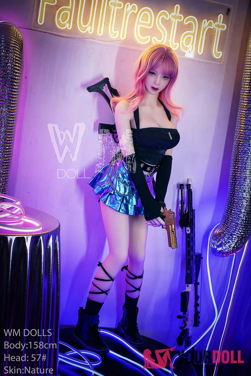 WM Dolls マイン 158cm Dカップ #57  ノーマル肌 ゲームクィーン 等身大 ラブドール