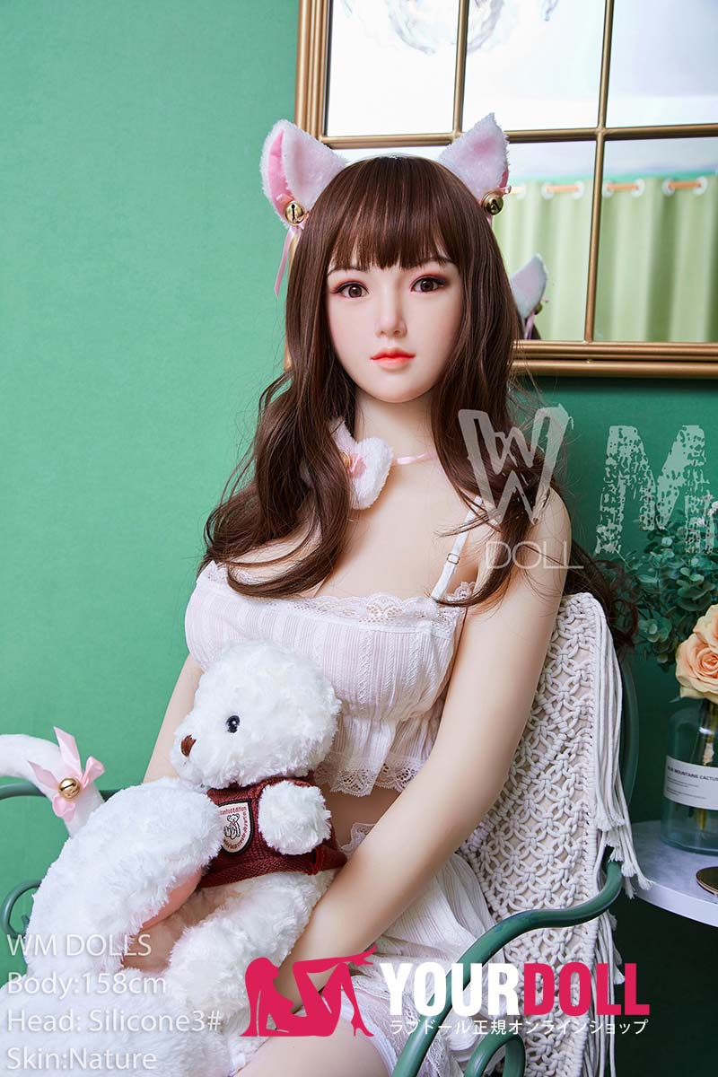 WM Dolls  絵理沙158cm  Dカップ  #3 ノーマル肌 シリコンヘッド +TPEボディ ラブ人形