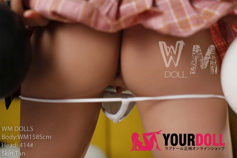 WM Dolls  Thea 158cm  Sカップ  #414 ブラウン肌   欧米系 等身大ドール